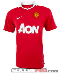 Manchester United Jersey with Wayne Rooney