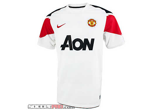 2010 Manchester United Away Jersey